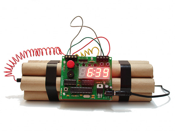 Αποτέλεσμα εικόνας για βομβα αντιστροφη μετρηση
